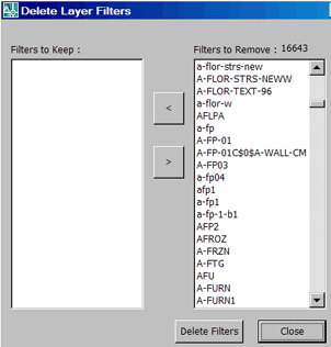 Delete Layer Filters