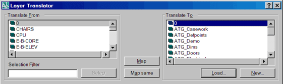 AutoCAD Layer Translator