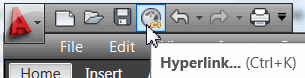 The new Quick Access Toolbar