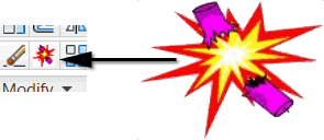 Explode button image