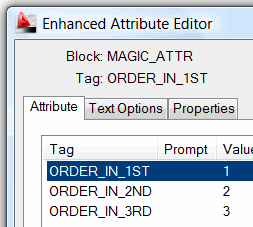Enhanced Attribute Editor