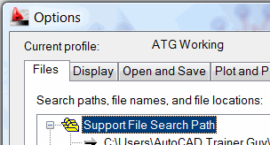 Support File Search Path
