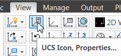 UCS Icon Properties