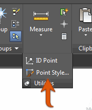 Point Style on the Ribbon