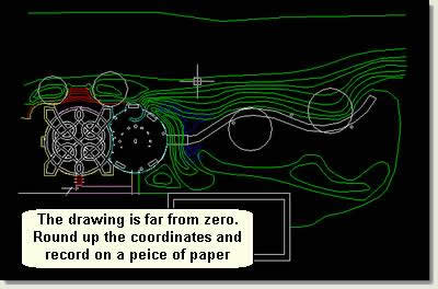 Drawing Lines In Autocad Using Coordinates : Ds max tutorial preparing an autocad drawing for d cadtutor