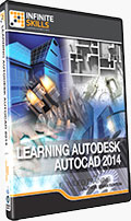 Learning Autodesk AutoCAD 2014 Training DVD