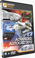Advanced AutoCAD 2012 Training CD
