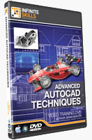 Advanced AutoCAD 2011 Techniques Training CD