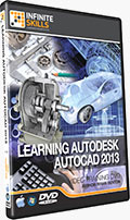 Learning Autodesk AutoCAD 2013 Training DVD