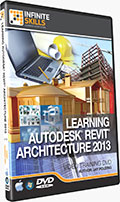 Learning Revit Architecture 2013 Training DVD