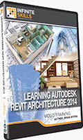 Learning Revit Architecture 2014 Training DVD