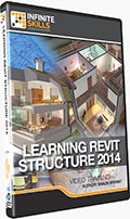 Learning Revit Structure 2014 Training DVD