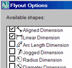 Flyout Options