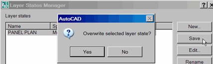 Overwrite selected layer state?