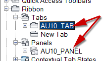 New Tab in list