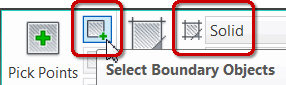 Select Boundary Objects