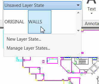 Layer State Preview