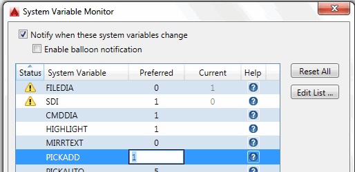 The System Variable Monitor