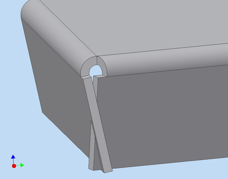 Sheet Metal Self Intersecting Flanges Error - Autodesk