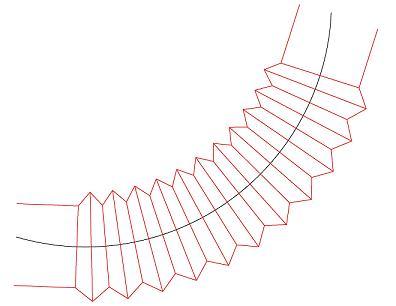 Flexible Duct representation - AutoCAD Beginners' Area - AutoCAD Forums