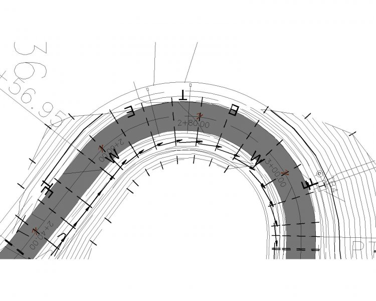 FLOWLINE LINETYPE (with ARROWS) - AutoCAD 2D Drafting