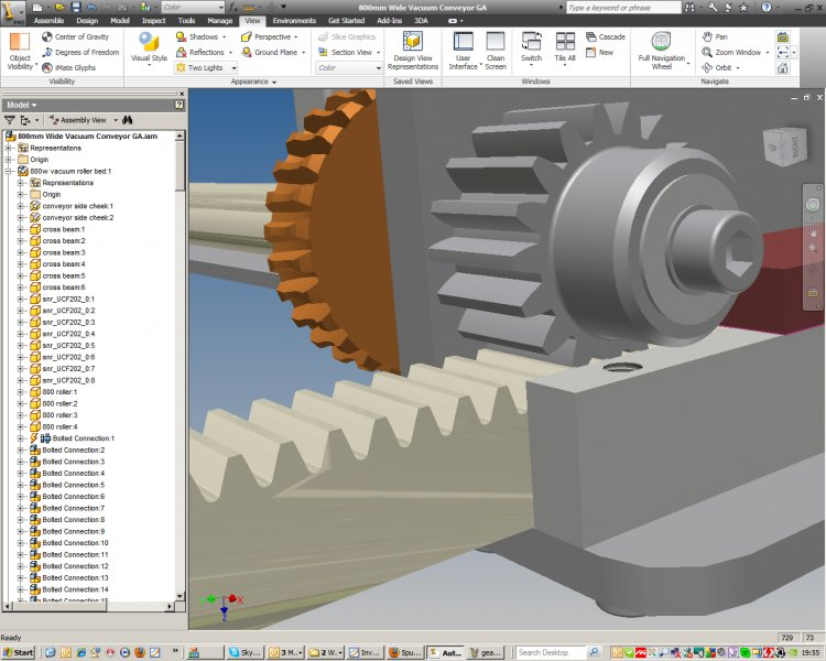 Spur Gear and Rack - Autodesk Inventor - AutoCAD Forums