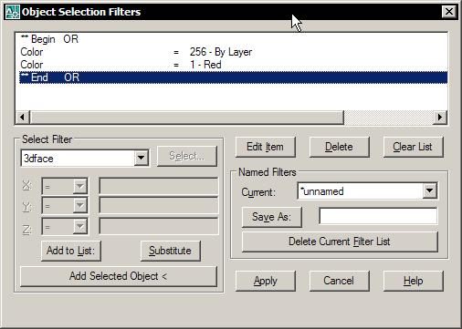 Select objects by colour - AutoLISP, Visual LISP & DCL - AutoCAD Forums