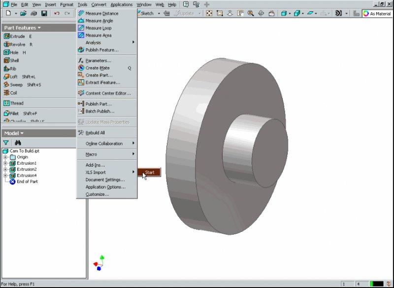 xls import - Autodesk Inventor - AutoCAD Forums