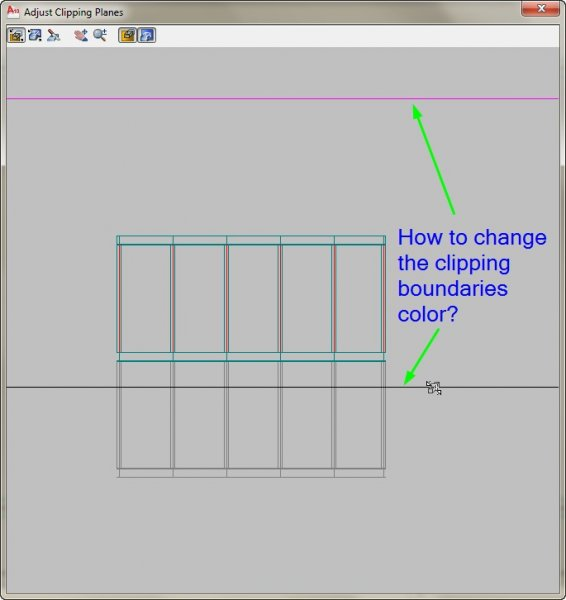 Disappearing 3DClip Clipping planes - AutoCAD 3D Modelling