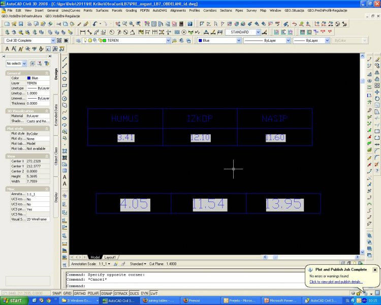 joining tables - AutoCAD General - AutoCAD Forums