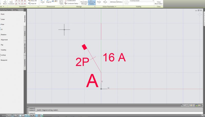 Change Text in Dynamic Block - AutoCAD Drawing Management