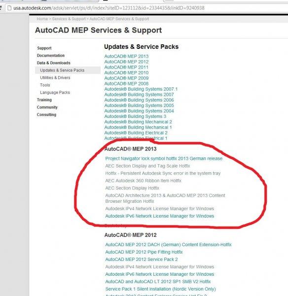 2013 Problems??? - MEP - AutoCAD Forums