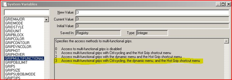 Midpoint on line not visible (Grips?) - AutoCAD 2D Drafting, Object