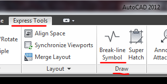 Section break lines - Student Project Questions - AutoCAD Forums