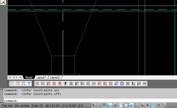 missing drawing info bar - AutoCAD General - AutoCAD Forums