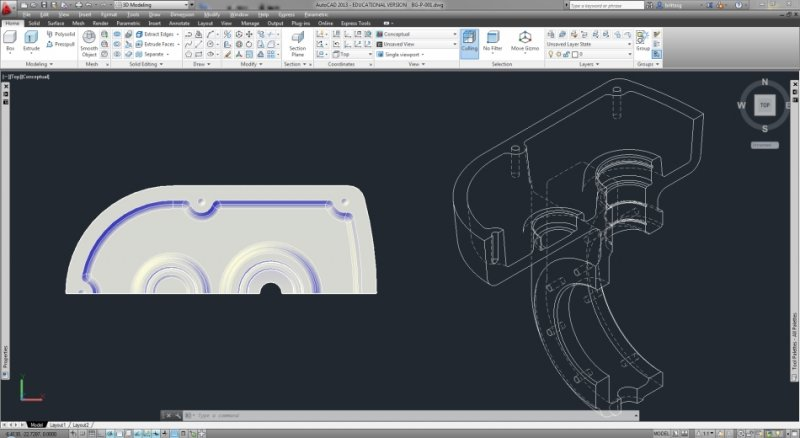 Creating a 2D  dwg from a 3D Inventor file - Autodesk