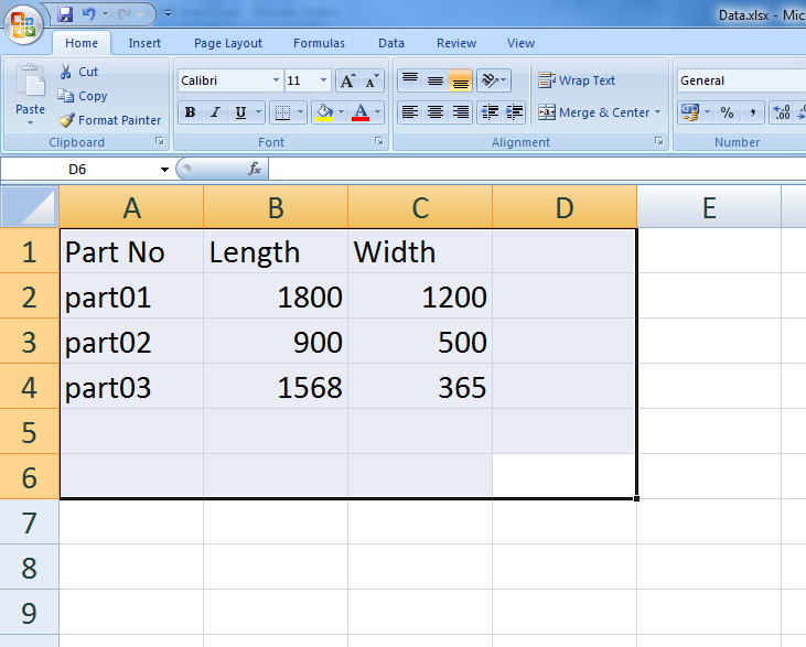 Draw a rectangle in ACAD from Excel -  NET, ObjectARX & VBA