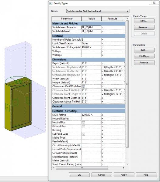 Revit MEP Switchboard modelling - Revit MEP - AutoCAD Forums