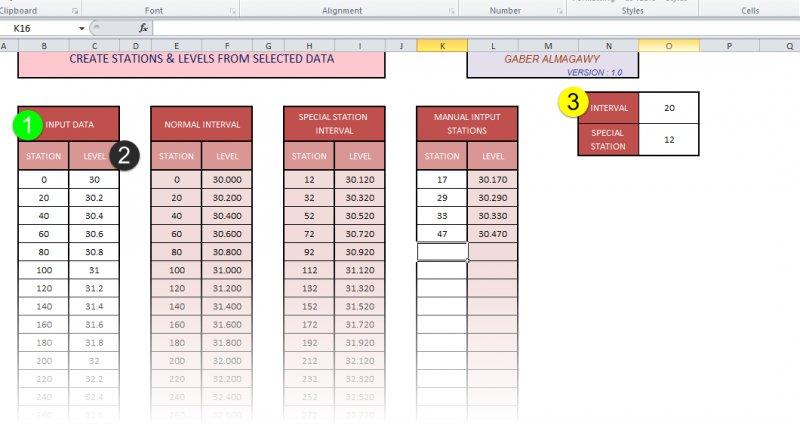 Create xy, xyz road profile lisp + excel - AutoLISP, Visual
