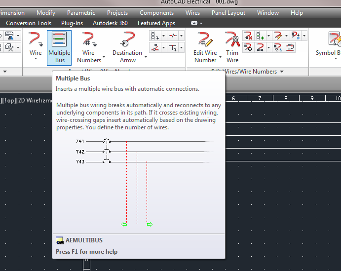 Autocad Electrical 2014 Multiple Bus Problems Electrical