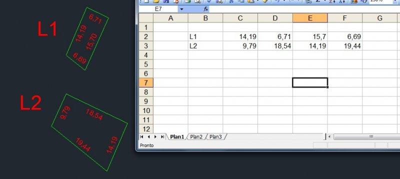 Exporting the measure of each polyline's segment to excel