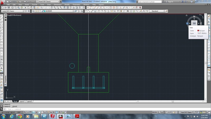 Penn Foster Drafting with AutoCad Structural help with the rebar