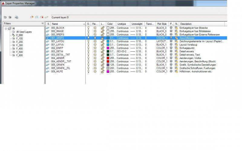 list layer filters autolisp - AutoLISP, Visual LISP & DCL