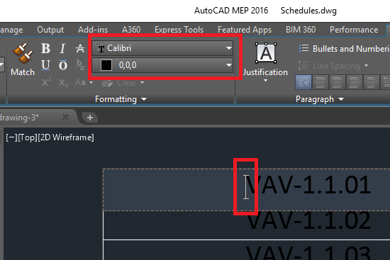 Remove ALL formatting from Tables? - AutoCAD 2D Drafting