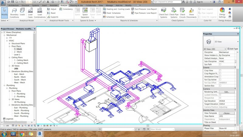 Not getting flowrates for AHU supply and return main ducts - Revit