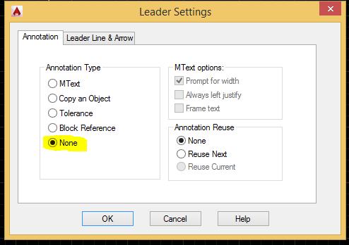 Leader settings by LISP - AutoLISP, Visual LISP & DCL