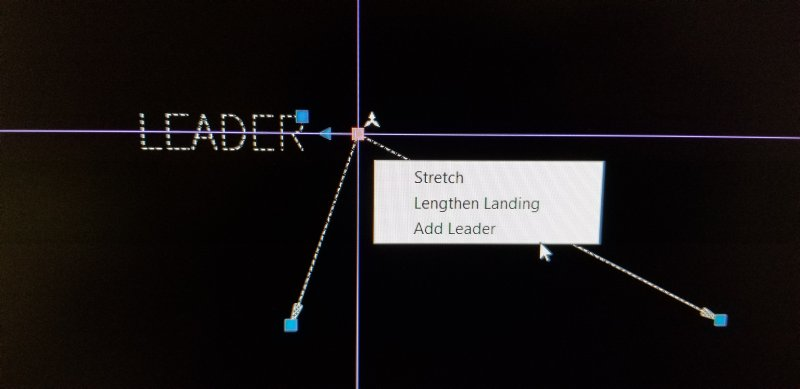 Leader sub menu modification - The CUI, Hatches, Linetypes, Scripts