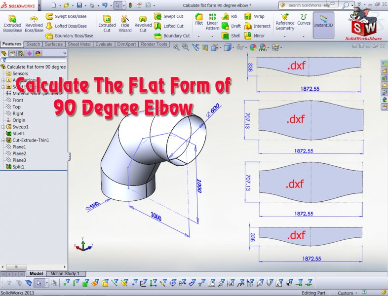 Calculate flat form 90 degree elbow-SolidWorks Share-SolidWorks Tutorial.jpg