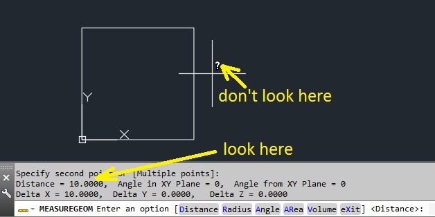Autodesk DWG TrueView 2015 cannot measure distance - AutoCAD