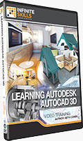 Learning Autodesk AutoCAD 3D Training DVD